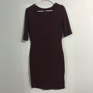 NWOT Attention Fitted Dress
